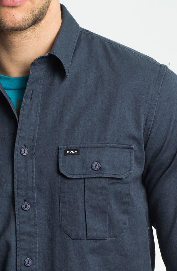 Alternate Image 3  - RVCA 'Wrenchman' Woven Shirt
