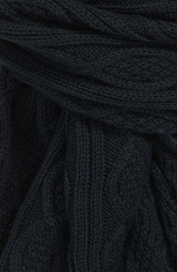 Alternate Image 2  - DIESEL® 'Sdetty' Cable Knit Scarf