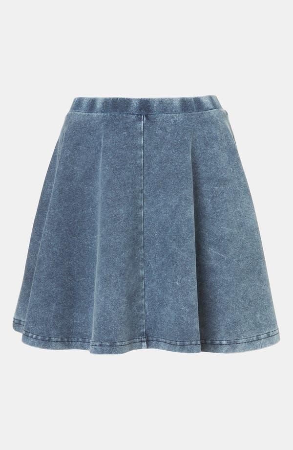 Alternate Image 1 Selected - Topshop 'Andie' Skater Skirt (Petite)