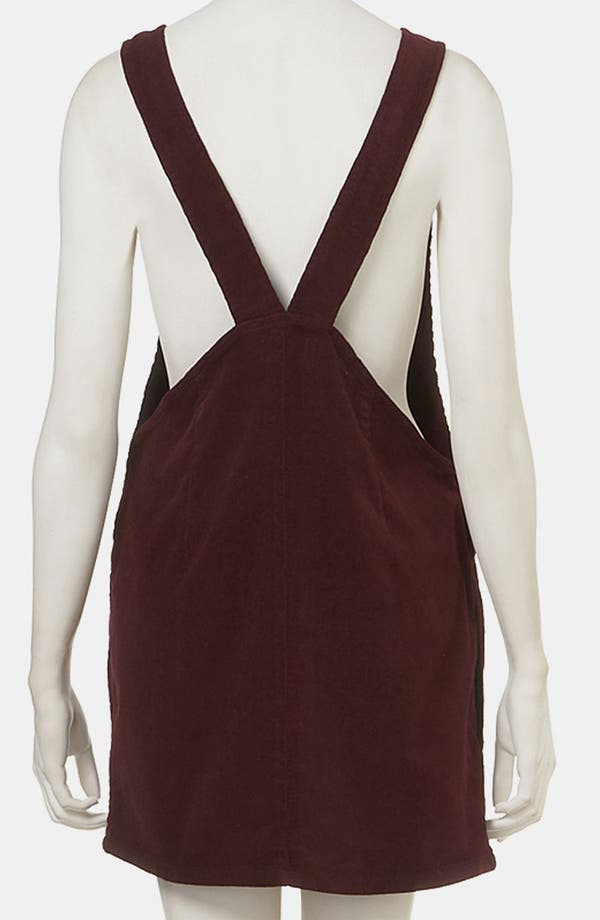 Alternate Image 2  - Topshop 'Amber' Corduroy Dress
