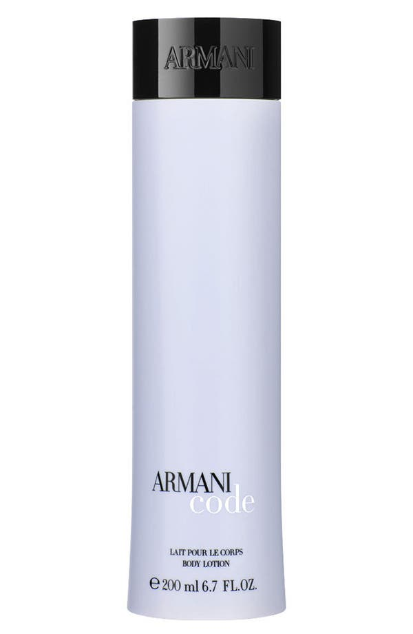 Alternate Image 1 Selected - Armani Code for Women Body Lotion