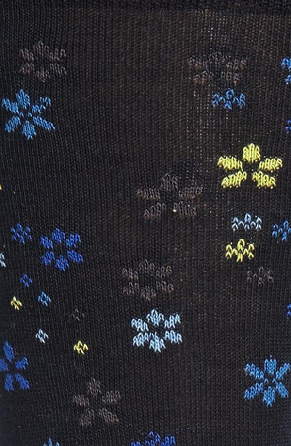Alternate Image 2  - Bugatchi Floral Print Socks
