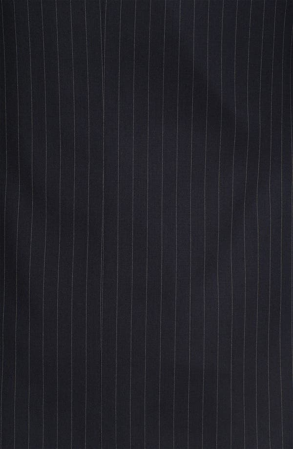 Alternate Image 7  - Joseph Abboud Trim Fit Peak Lapel Stripe Suit