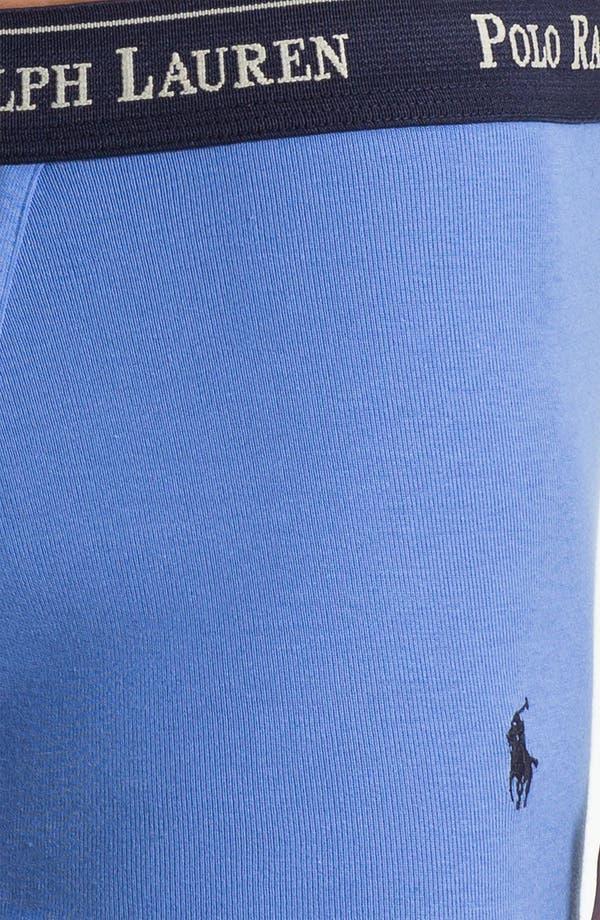 Alternate Image 5  - Polo Ralph Lauren Slim Fit Trunks (3-Pack)