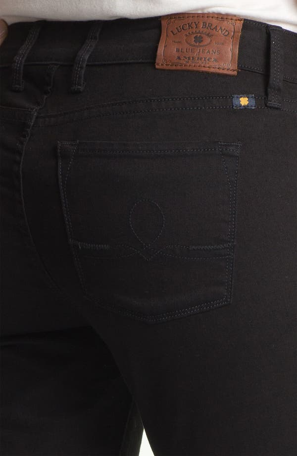 Alternate Image 3  - Lucky Brand 'Sofia' Skinny Jeans (Black) (Online Exclusive)