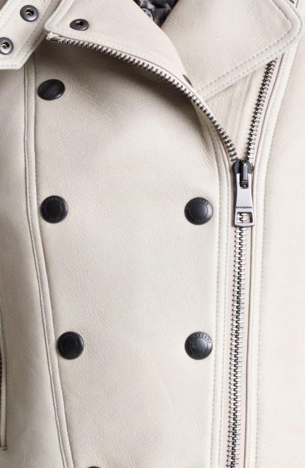 Alternate Image 3  - Burberry Brit 'Alderley' Lambskin Shearling Jacket