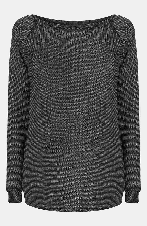 Main Image - Topshop Two Tone Slouchy Maternity Sweater