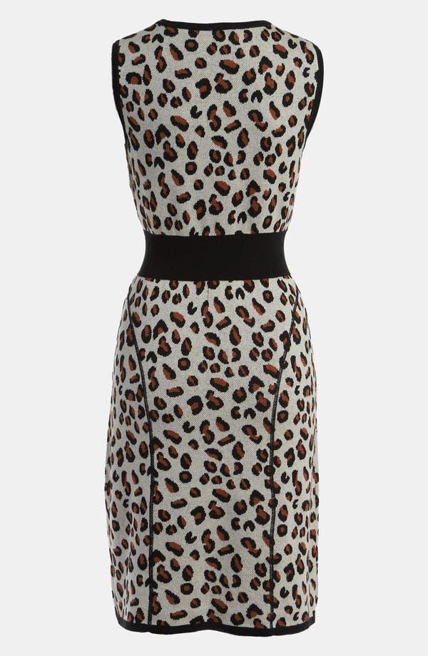 Alternate Image 2  - Viva Vena! Cheetah Print Sweater Dress