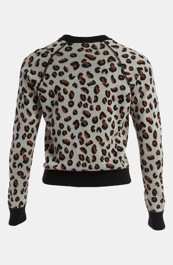 Alternate Image 2  - Viva Vena! Cheetah Print Pullover