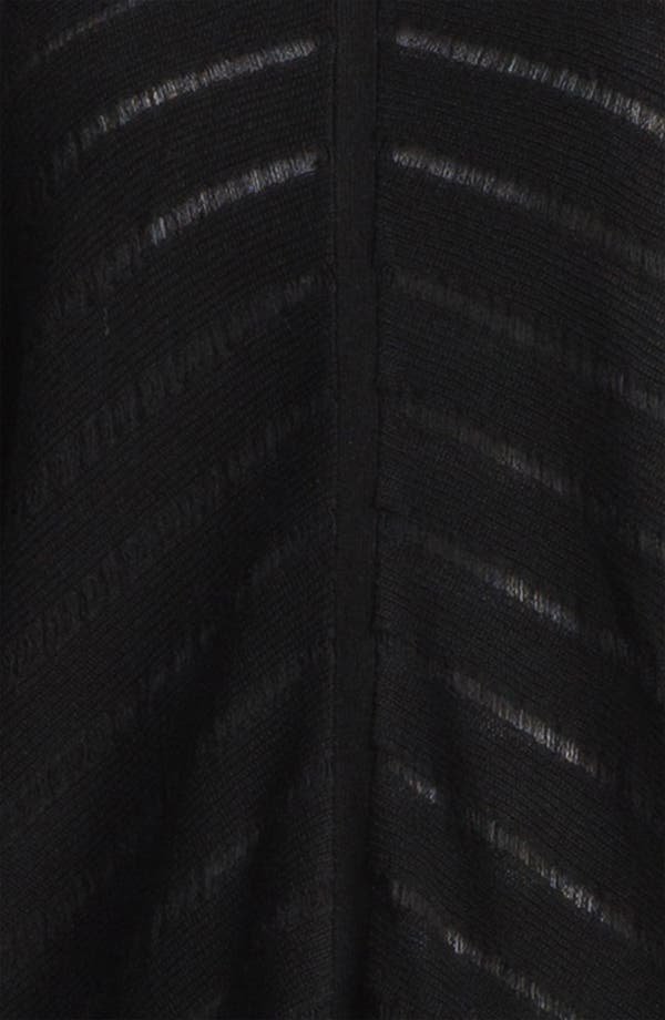 Alternate Image 3  - Eileen Fisher Stripe Knit V-Neck Top (Online Exclusive)