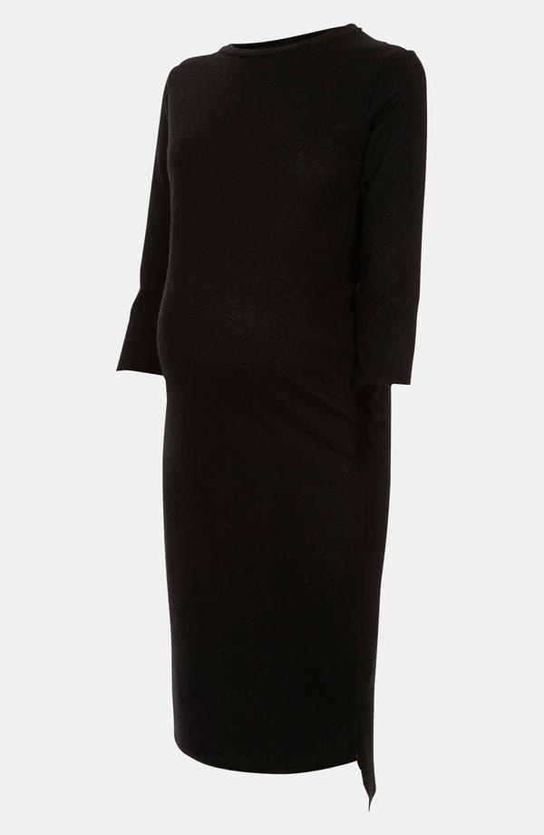 Main Image - Topshop 'Fleck' Knit Maternity Dress