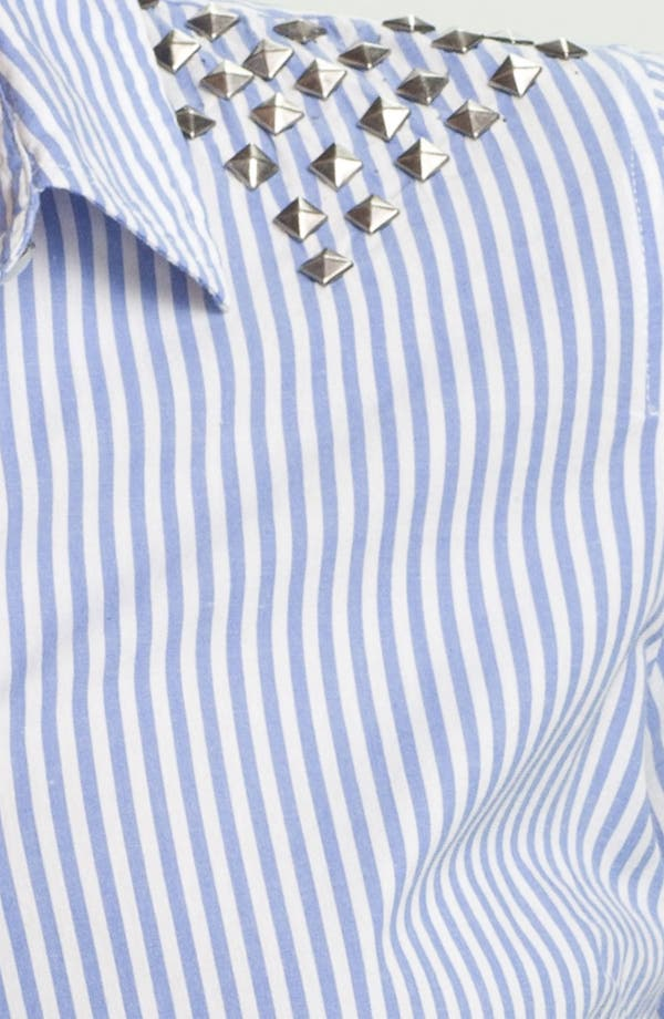 Alternate Image 3  - Two by Vince Camuto Studded Stripe Shirt