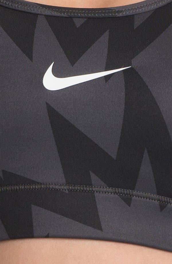 Alternate Image 3  - Nike 'Pro' Print Compression Bra