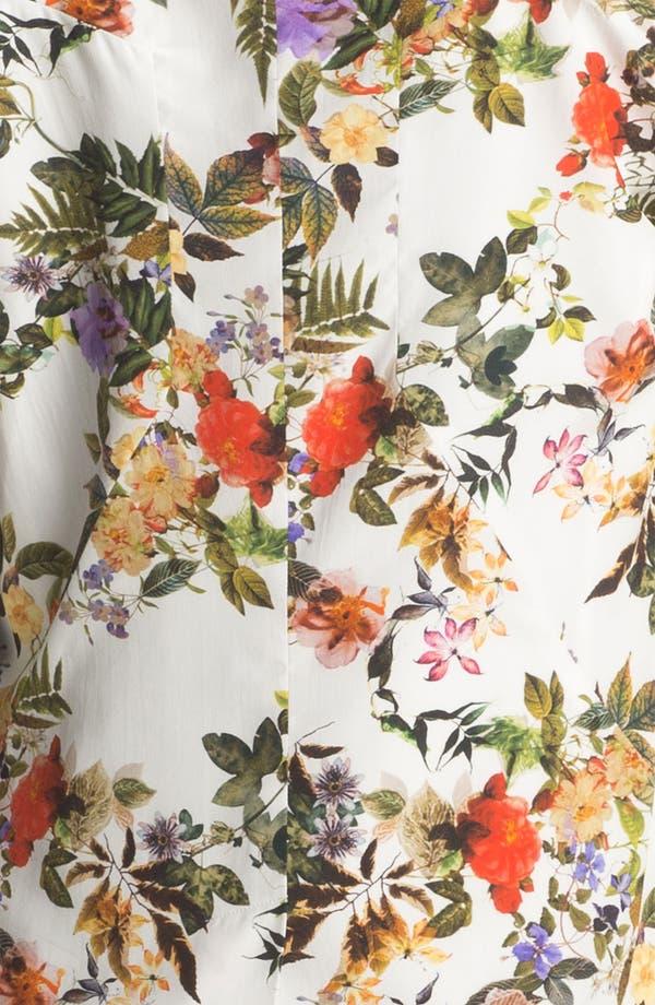 Alternate Image 7  - Haute Hippie Floral Print Silk Blazer