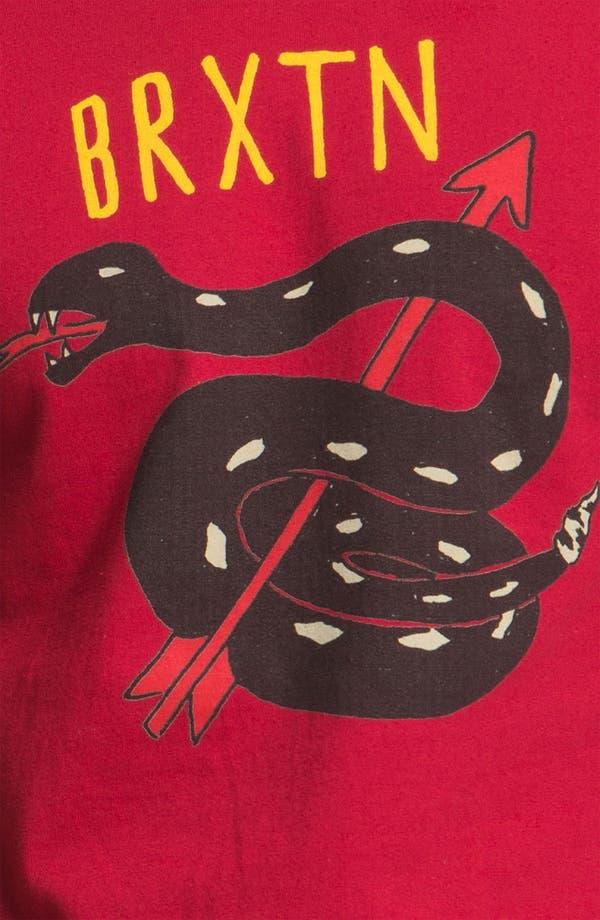 Alternate Image 3  - Brixton 'Rattle 11' Graphic T-Shirt