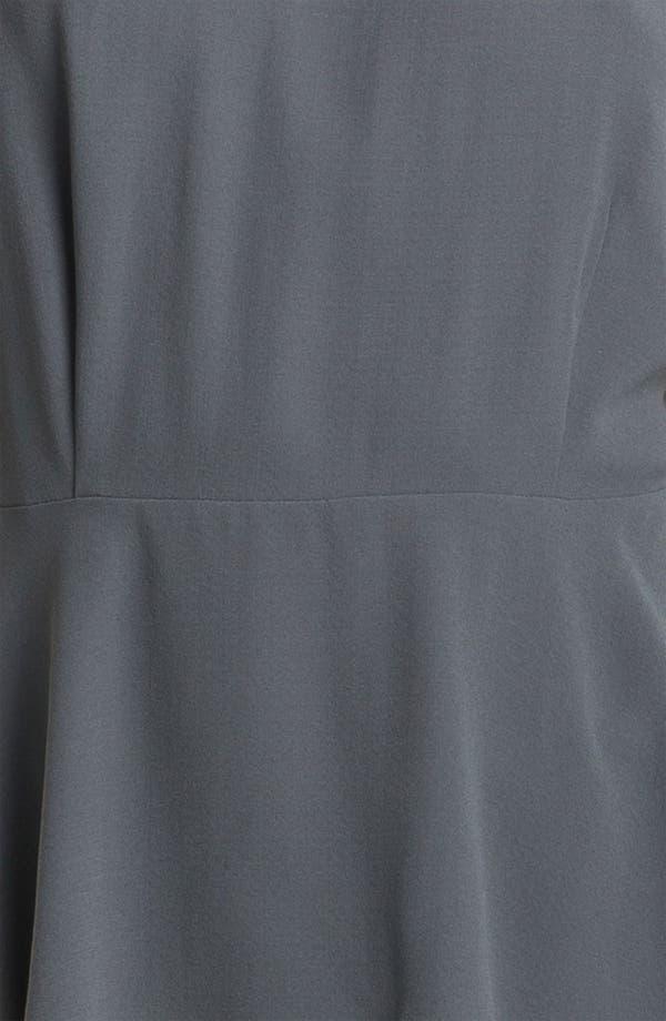 Alternate Image 3  - Eileen Fisher Silk Georgette Peplum Blouse (Online Only)