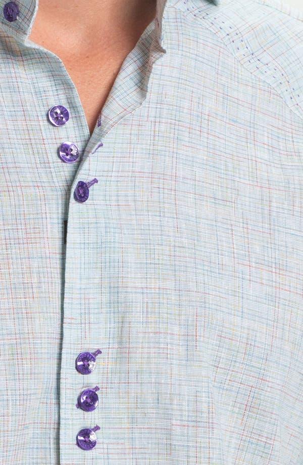 Alternate Image 3  - Bogosse 'Matis 93' Trim Fit Sport Shirt