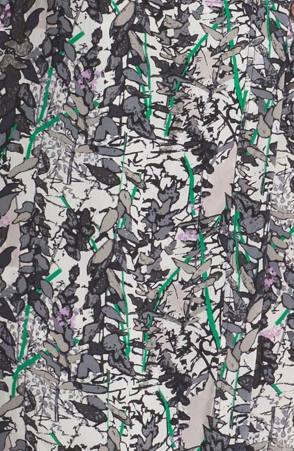 Alternate Image 3  - Tracy Reese Leaf Print Silk Shirtdress