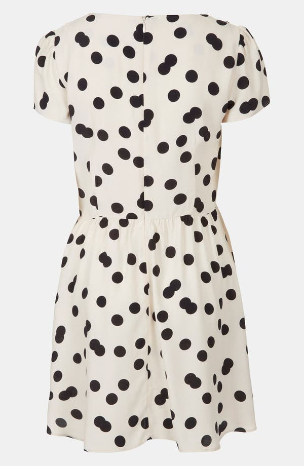 Alternate Image 2  - Topshop 'Florence' Polka Dot Dress