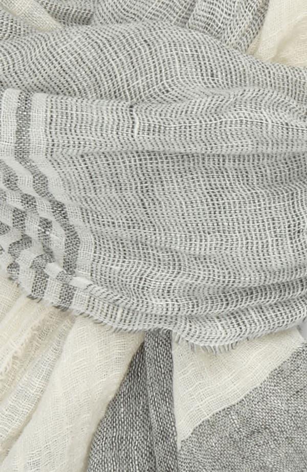 Alternate Image 2  - rag & bone Linen Blend Scarf