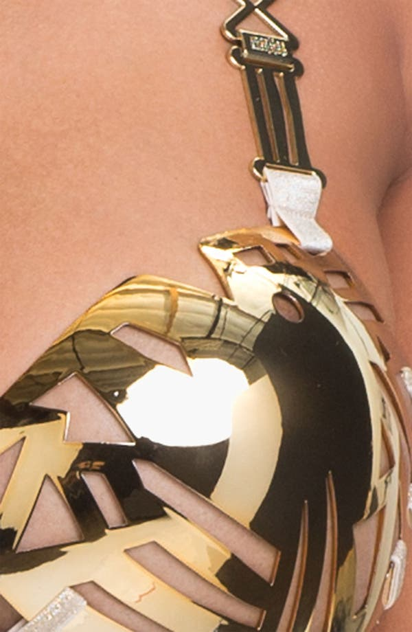 Alternate Image 4  - Marlies Dekkers 'Golden Karo' Metal Cup Bra (Limited Edition)