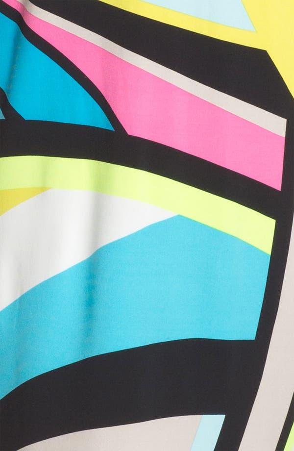 Alternate Image 3  - Calvin Klein Cold Shoulder Print Shift Dress
