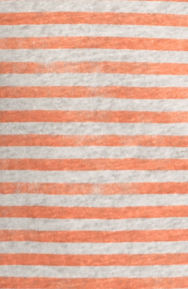 Alternate Image 3  - Majestic Stripe Linen Tank
