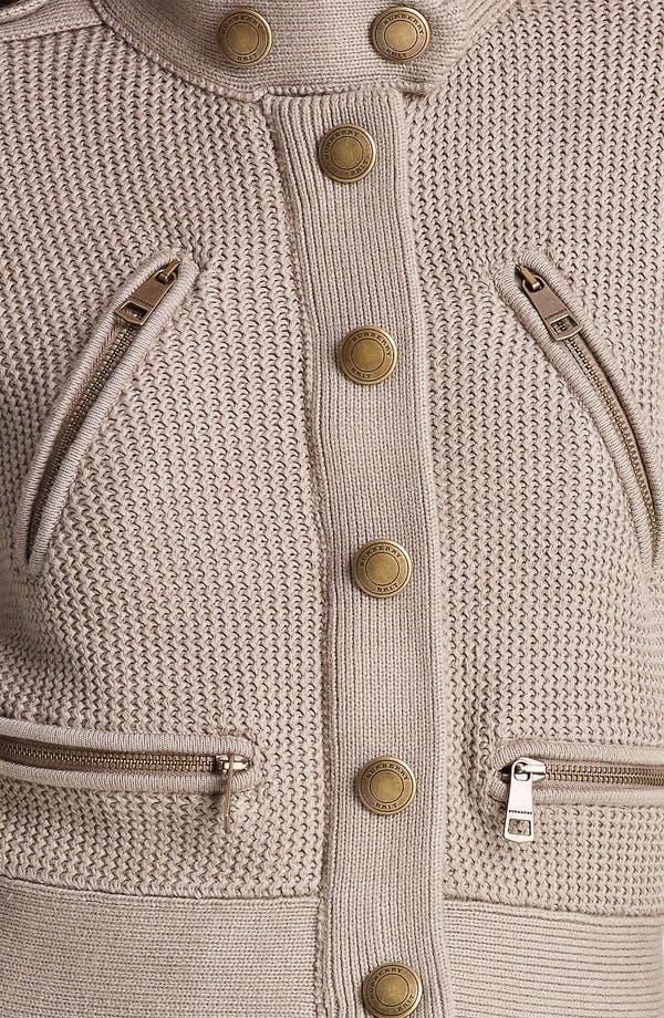 Alternate Image 3  - Burberry Brit Knit Cardigan (Online Only)