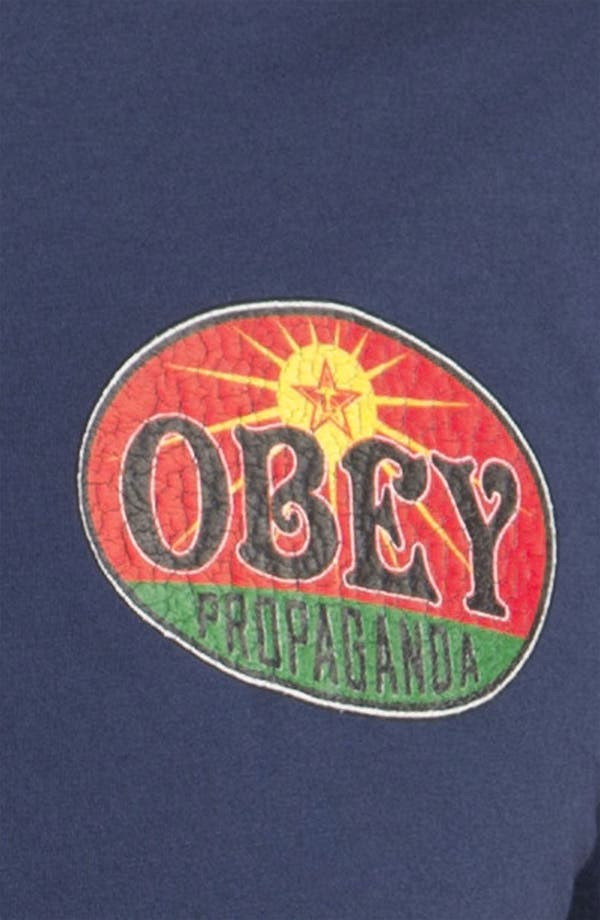 Alternate Image 3  - Obey 'Rising Sun' T-Shirt