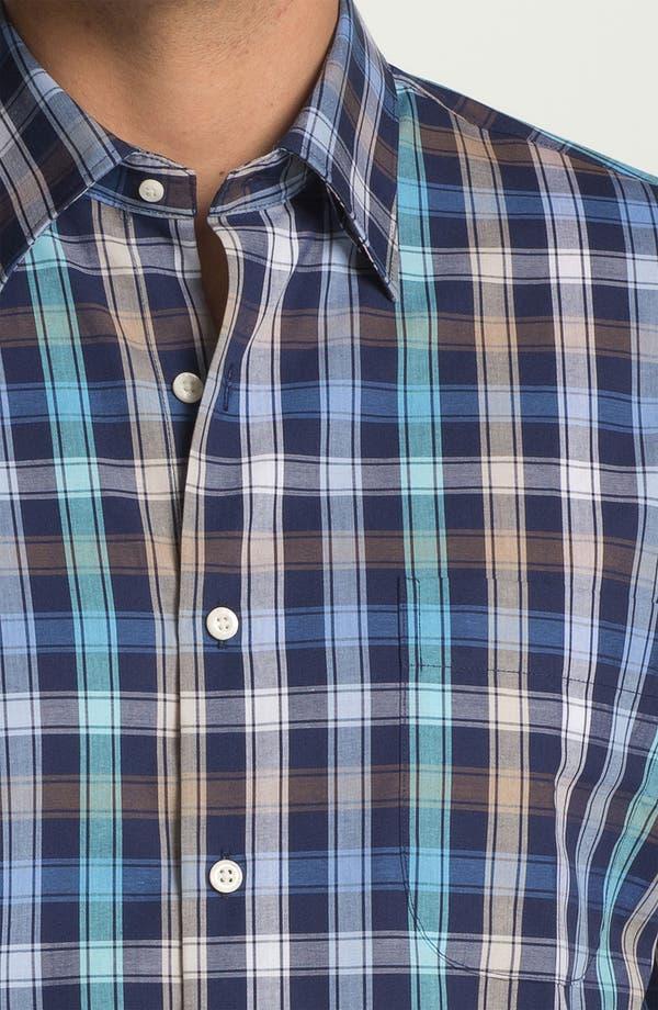 Alternate Image 3  - Peter Millar 'Double Track' Regular Fit Sport Shirt