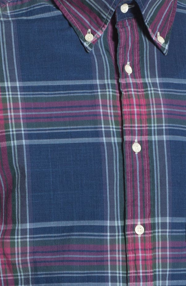 Alternate Image 2  - Gant Rugger Madras Plaid Woven Shirt