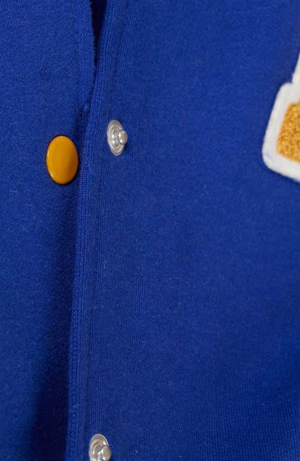 Alternate Image 4  - Topshop Jersey Varsity Jacket