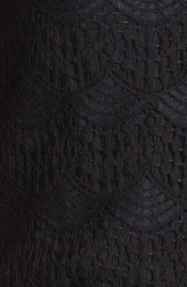 Alternate Image 3  - Ella Moss Scalloped Lace Top