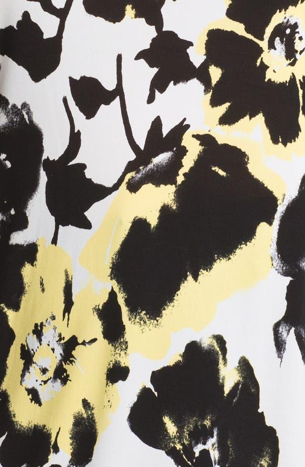Alternate Image 3  - Evans Floral Print Tunic (Plus Size)