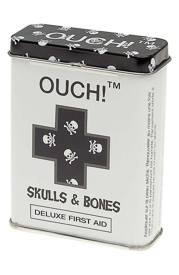 Alternate Image 1 Selected - NPW 'OUCH!™ - Skulls & Bones' Bandages (Juniors)