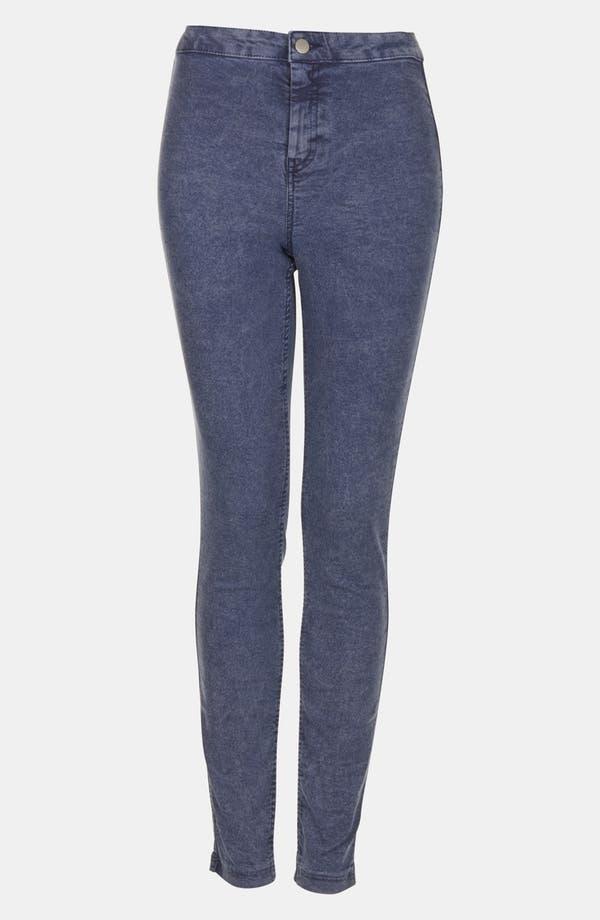 High Waist Skinny Jeans,                         Main,                         color, Light Blue