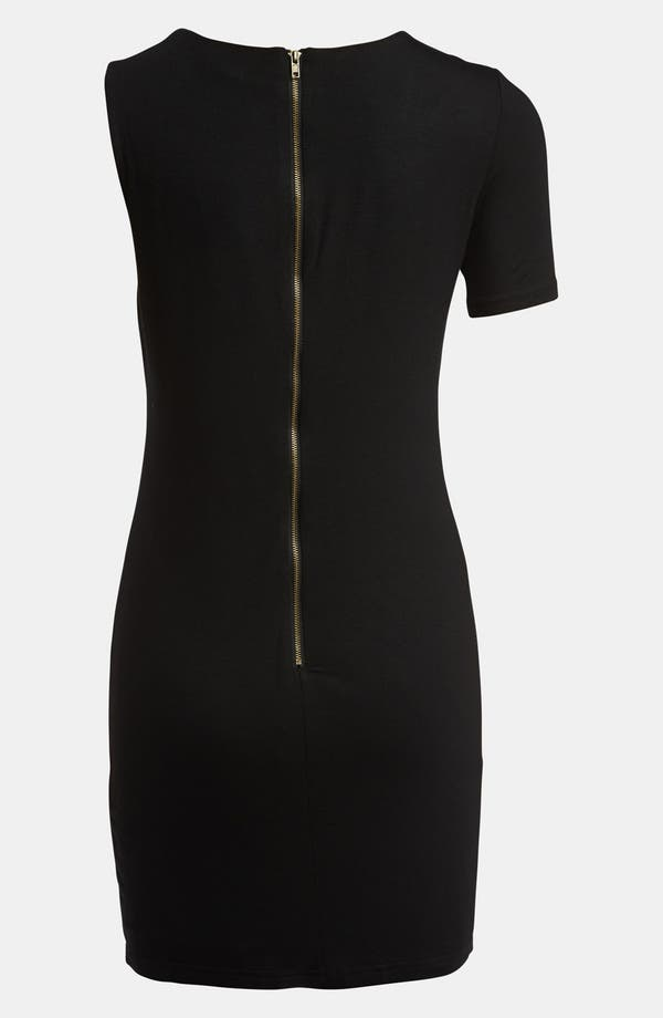 Alternate Image 3  - Lucca Couture Single Sleeve Cutout Dress