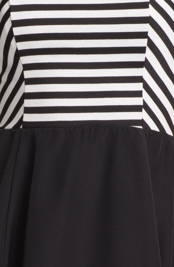 Alternate Image 3  - Eight Sixty Sleeveless Mock Two Piece Dress