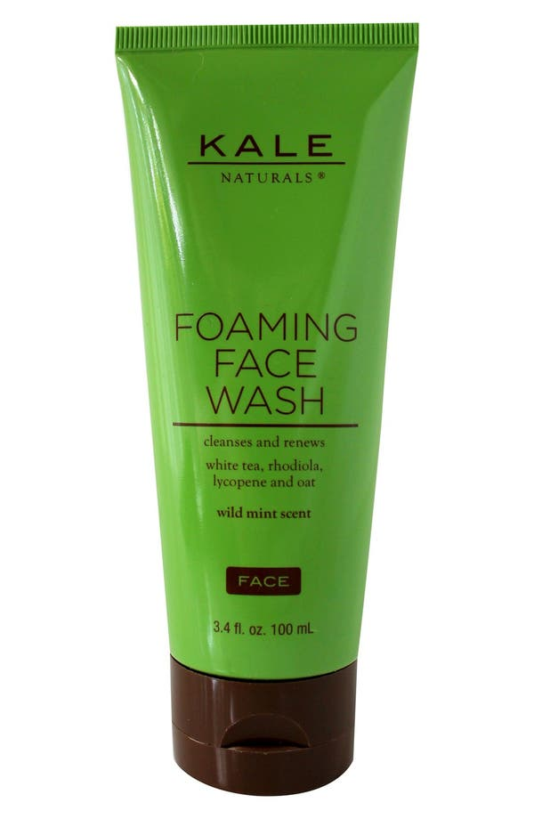 Alternate Image 1 Selected - Kale Naturals® Foaming Face Wash