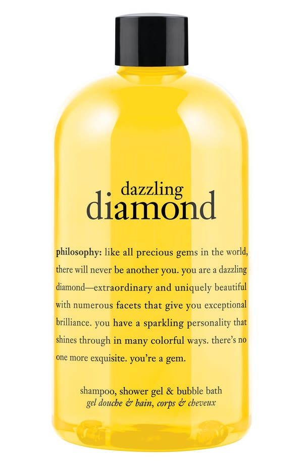 Alternate Image 1 Selected - philosophy 'you're a gem - dazzling diamond' shampoo, shower gel & bubble bath