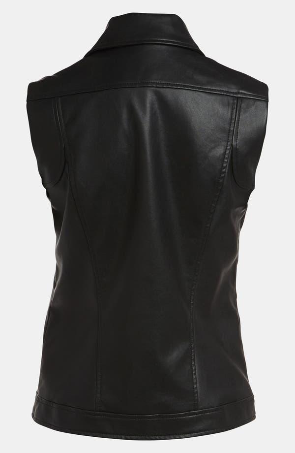 Alternate Image 3  - Mural Faux Leather Vest