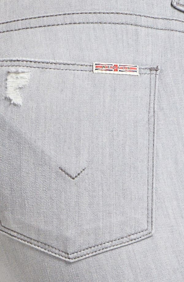 Alternate Image 3  - Hudson Jeans 'Nico' Skinny Stretch Jeans (Fiji Grey)