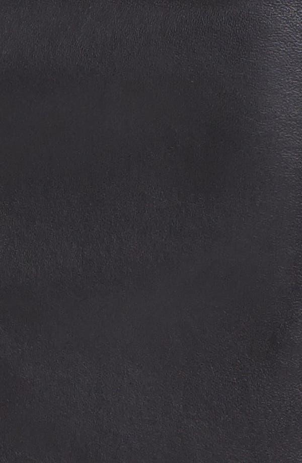 Alternate Image 3  - Nanette Lepore 'Mime' Leather & Knit Skirt