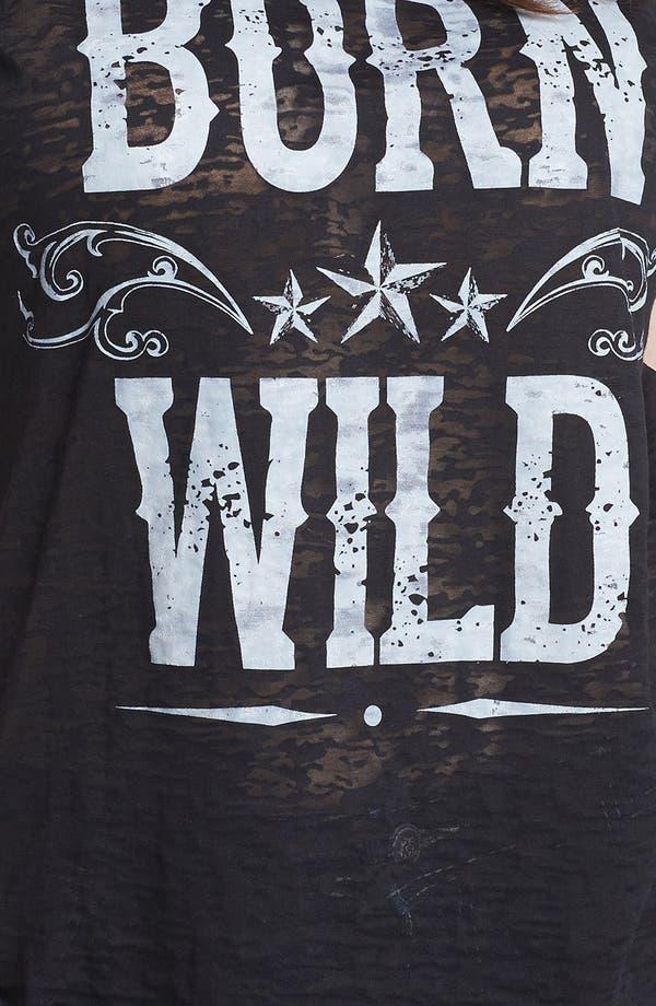 Alternate Image 3  - Pretty Rebel 'Born Wild' Graphic Tee (Juniors Plus)