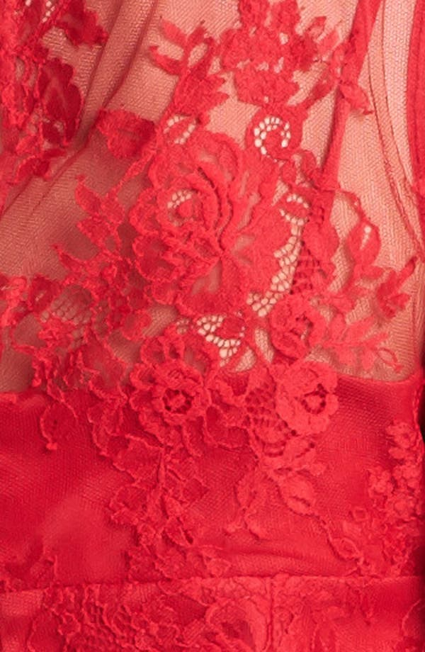 Alternate Image 3  - Adrianna Papell Chantilly Lace Dress
