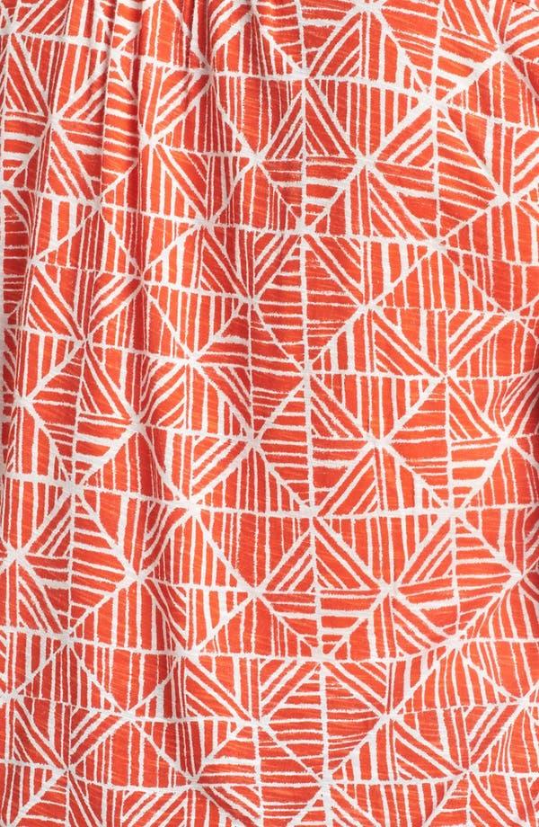Alternate Image 3  - Lucky Brand 'Mosaic Tile' Print Tee (Plus Size)