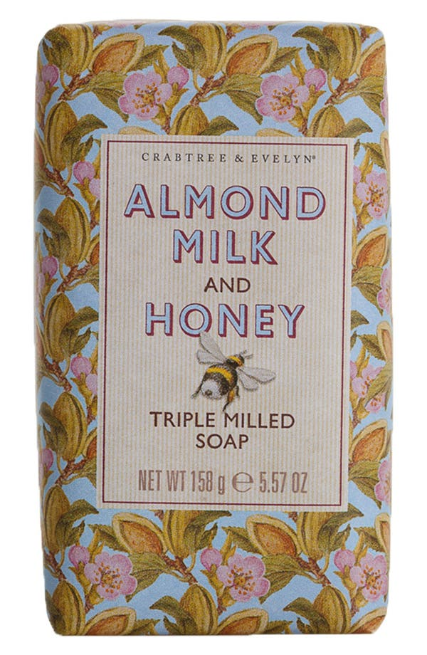 Alternate Image 1 Selected - Crabtree & Evelyn 'Almond Milk & Honey' Triple Milled Soap