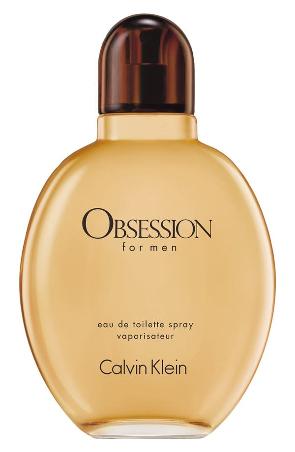 Alternate Image 1 Selected - Obsession for Men by Calvin Klein Eau de Toilette Spray for Men