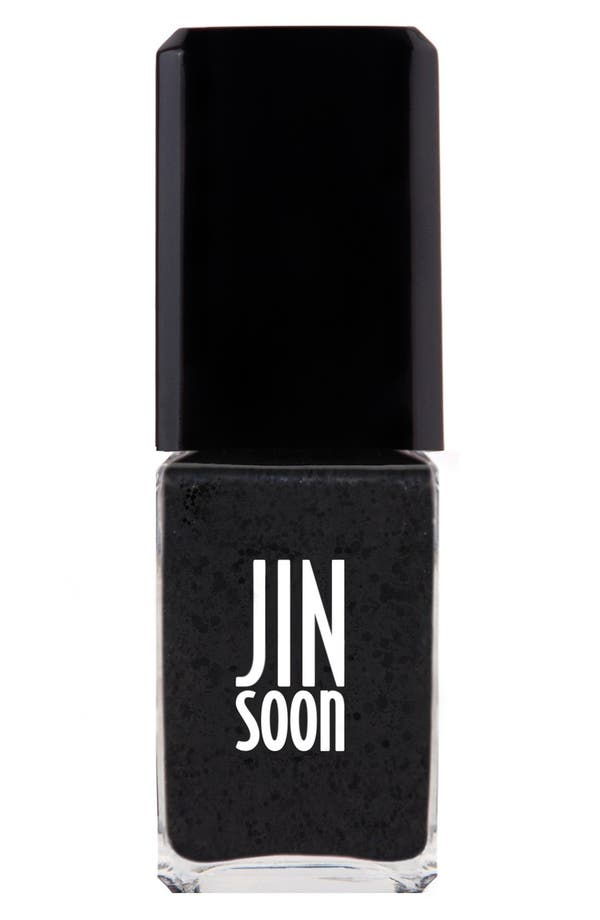Alternate Image 1 Selected - JINsoon 'Polka Black' Nail Lacquer
