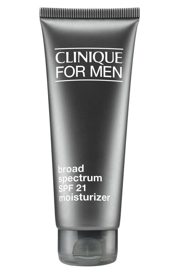 for Men Broad Spectrum SPF 21 Moisturizer,                         Main,                         color, No Color